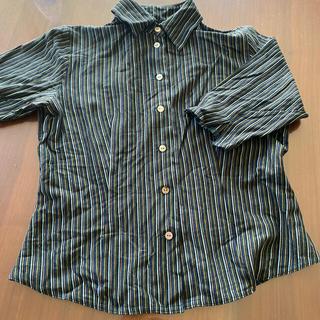 トクコプルミエヴォル(TOKUKO 1er VOL)のTOKUKO 2e'me VOL トクコ 半袖シャツ(シャツ/ブラウス(長袖/七分))