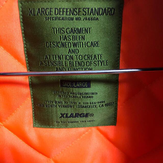 XLARGE(エクストララージ)のエクストララージ、アウター、X-LARGE メンズのジャケット/アウター(ナイロンジャケット)の商品写真
