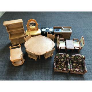 エポック(EPOCH)のシルバニアファミリー 家具セット(ぬいぐるみ/人形)