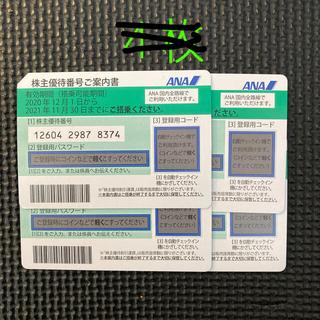 エーエヌエー(ゼンニッポンクウユ)(ANA(全日本空輸))のANA 優待券 おまとめ割あり 11枚(航空券)