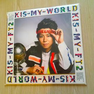 キスマイフットツー(Kis-My-Ft2)のKIS-MY-WORLD キスショ盤 北山宏光 アルバム CD DVD 未再生(ポップス/ロック(邦楽))