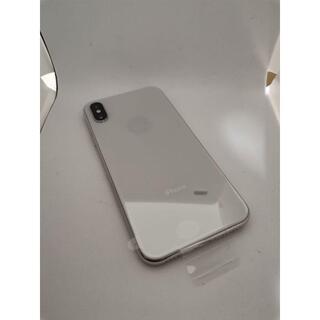 新品 iPhone X Silver 256 GB SIMフリー シルバー(スマートフォン本体)