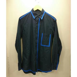 ワイスリー(Y-3)のY-3 シャツ ネイビーアンドブルー(シャツ)