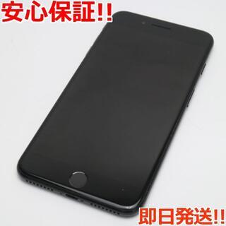 アイフォーン(iPhone)の美品 SIMフリー iPhone7 PLUS 32GB ジェットブラック (スマートフォン本体)