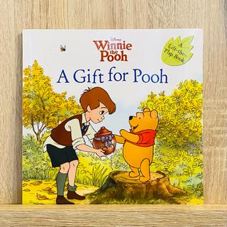 クマノプーサン(くまのプーさん)のディズニー絵本 幼児英語 プーさん Winnie the pooh 仕掛け絵本(絵本/児童書)