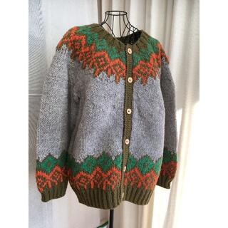 ゴーウエスト(GOWEST)の[gowest]hand knit cardigan(カーディガン)