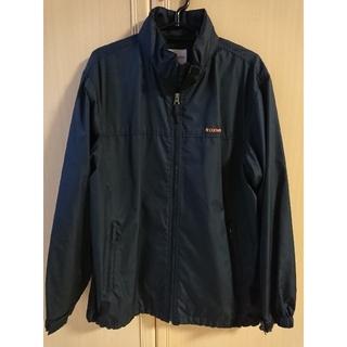 コンバース(CONVERSE)のCONVERSE コンバース ナイロンジャケット ジャケット 紺 フード付き(ナイロンジャケット)