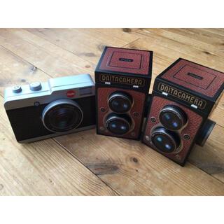 カルディ(KALDI)のカルディ レフレックス カメラ缶 チョコレート 3点セット(菓子/デザート)