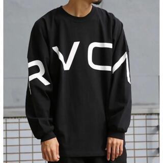 ルーカ(RVCA)のお値下げ❣️(5%クーポン本日まで) RVCA ロンT  Mサイズ(Tシャツ/カットソー(七分/長袖))