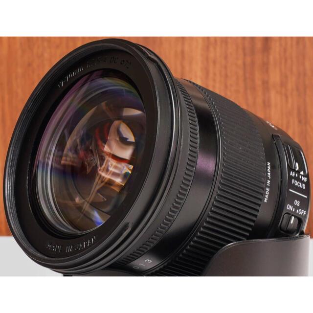 SIGMA(シグマ)の美品 SIGMA 17-70mm F2.8-4 DC MACRO OS HSM スマホ/家電/カメラのカメラ(レンズ(ズーム))の商品写真