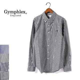 ジムフレックス(GYMPHLEX)のシャツ ギンガムチェック Gymphlex ブラック(シャツ)