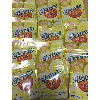 クロレッツ ジューシーポップレモネード 12個(菓子/デザート)