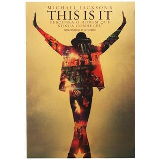 ポスター 041 音楽 マイケルジャクソン THIS IS IT(その他)