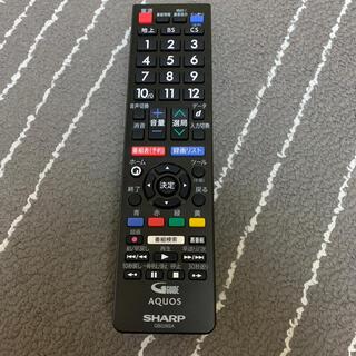 アクオス(AQUOS)のAQUOS テレビリモコン(テレビ)
