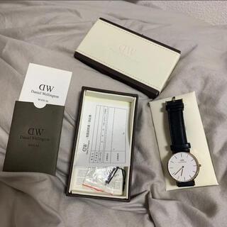 ダニエルウェリントン(Daniel Wellington)のダニエルウェリントン 腕時計 箱付き(腕時計(アナログ))