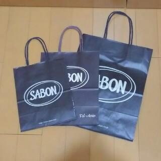 サボン(SABON)のSABON ショッパー 3枚(ショップ袋)