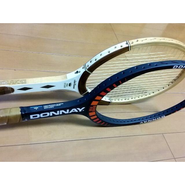 wilson(ウィルソン)の【奇跡の2本+1本】 1980 Wimbledon 決勝 テニスラケット スポーツ/アウトドアのテニス(ラケット)の商品写真