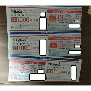 ビックカメラ 割引券 クーポン 株主優待(ショッピング)