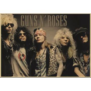ポスター 045 音楽 ガンズアンドローゼス Guns n' Roses 初期(その他)