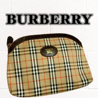 バーバリー(BURBERRY)の【BURBERRYS】クラッチバッグ シャドーホース入り ヴィンテージ品(クラッチバッグ)