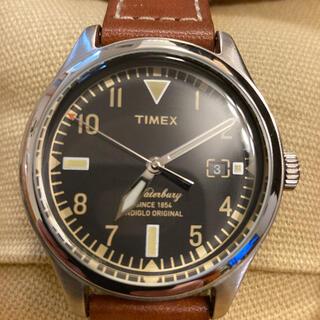 タイメックス(TIMEX)のTIMEX/(U)ウォーターベリー レッドウィングシューレザー 38 (腕時計(アナログ))