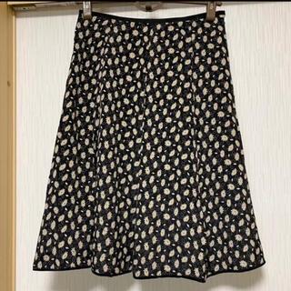 ロイスクレヨン(Lois CRAYON)のロイスクレヨン 総柄フレアースカート(ひざ丈スカート)