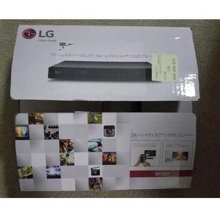 エルジーエレクトロニクス(LG Electronics)の値下げ! ブルーレイ DVD プレイヤー  LG  BP350(ブルーレイプレイヤー)