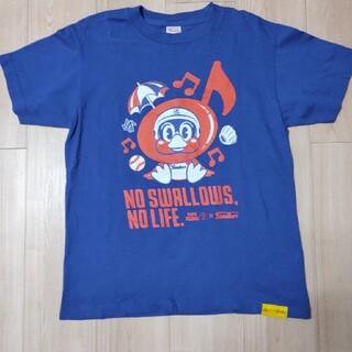 東京ヤクルトスワローズ - つば九郎×タワーレコードコラボTシャツ
