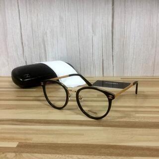 シャネル(CHANEL)のシャネル メガネ 黒フレーム ココマーク2132(サングラス/メガネ)