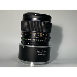 マミヤ(USTMamiya)のMAMIYA SEKOR C 80mm f1.9 Gマウントアダプター付き(レンズ(単焦点))