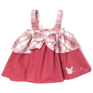クーラクール(coeur a coeur)のクーラクール 2WAYスカート 100 新品(スカート)