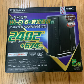 エヌイーシー(NEC)のAterm WX3000HP PA-WX3000HP(その他)