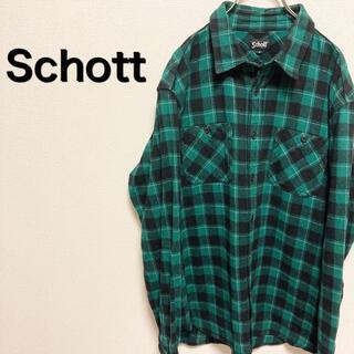 ショット(schott)のショット チェックシャツ(シャツ)