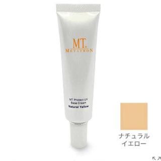 エムティー(mt)のMTメタトロン MT プロテクトUV ベースクリーム ナチュラルイエロー (化粧下地)