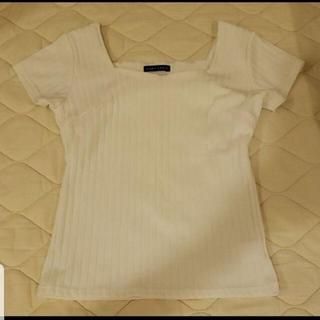 エディグレース(EDDY GRACE)のEDDYGRACE エディグレース Tシャツ カットソー 白(カットソー(半袖/袖なし))