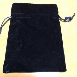 スワロフスキー(SWAROVSKI)のSWAROVSKI 巾着袋 ブラック(ポーチ)