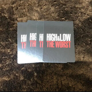 EXILE TRIBE - HiGH&LOW THE WORST カード グッズ