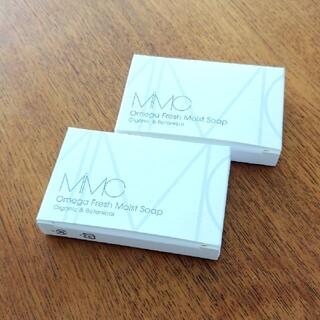 エムアイエムシー(MiMC)の新品 mimc  オメガフレッシュモイストソープ  フレッシュローズウッド 2個(洗顔料)