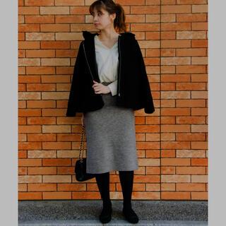 プーラフリーム(pour la frime)のニットスカート    (ひざ丈スカート)