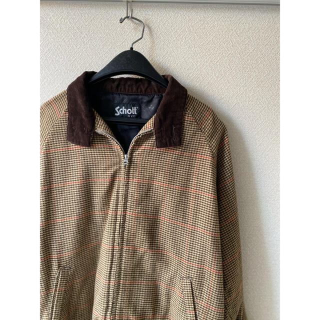 schott(ショット)の【Schott/直営店舗限定品】グレンチェック スウィングトップ/ドリズラー メンズのジャケット/アウター(ブルゾン)の商品写真