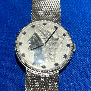 UNIVERSITY 17JWELS 手巻き 不動ジャンク品 (腕時計(アナログ))