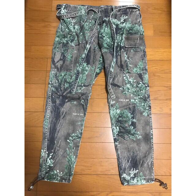 FEAR OF GOD(フィアオブゴッド)のFear Of God 6th Jiujitsu Pant Ghost Camo メンズのパンツ(ワークパンツ/カーゴパンツ)の商品写真