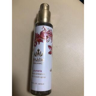 マリエオーガニクス(Malie Organics)のマリエオーガニクス リネン&ルームスプレー プルメリア(香水(女性用))