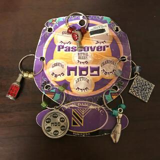 バカラ(Baccarat)のユダヤ グラス チャーム ペサハ 過越 土産 飾り 中東 イスラエル カバラ(テーブル用品)