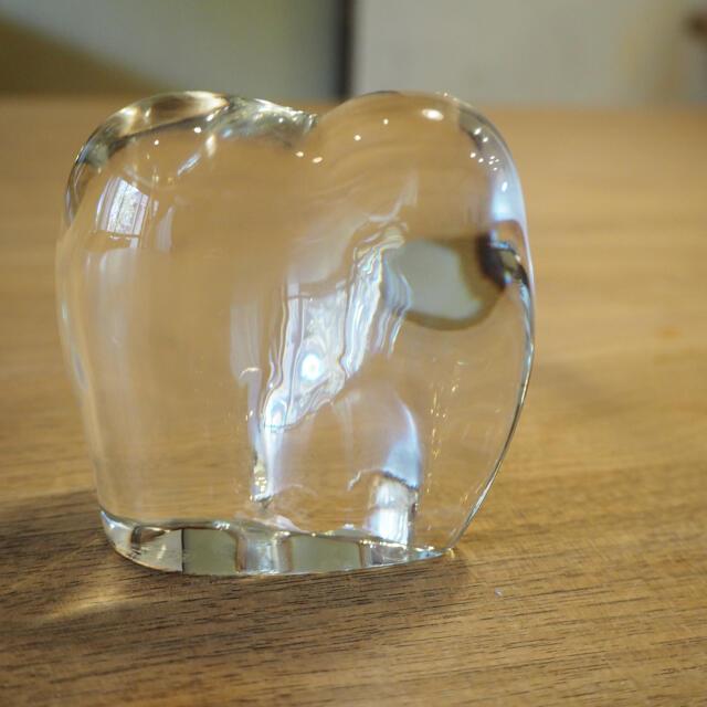 Baccarat(バカラ)のBaccarat Baccarat elephant object インテリア/住まい/日用品のインテリア小物(置物)の商品写真