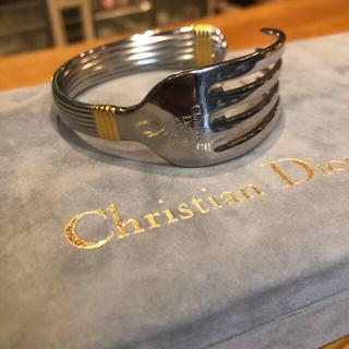 Tiffany & Co. - Christian Diorクリスチャンディオール ヴィンテージフォークバングル