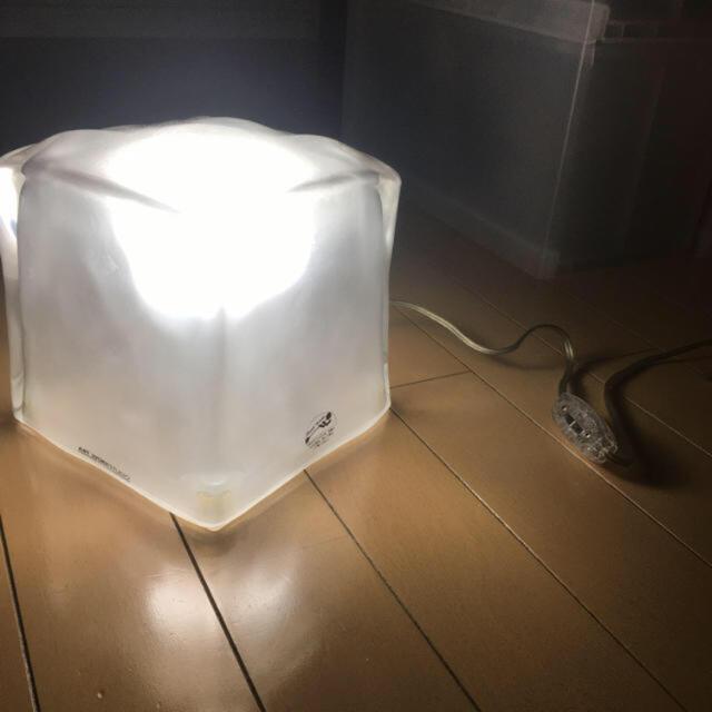 ACTUS(アクタス)のアートワークスタジオ ライト フロスティブロックランプ インテリア/住まい/日用品のライト/照明/LED(天井照明)の商品写真