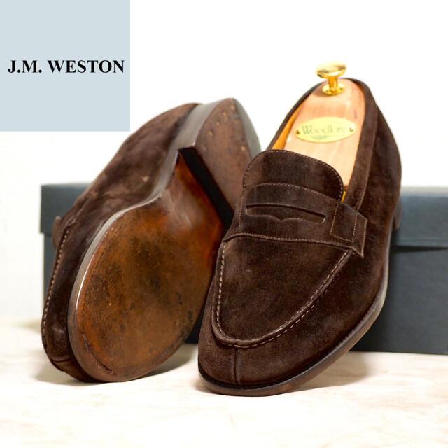 J.M. WESTON(ジェーエムウエストン)のJ.M.Weston 8D ウェストン 180 シグネチャーローファー メンズの靴/シューズ(ドレス/ビジネス)の商品写真