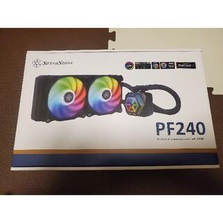 SilverStone PF240 CPUクーラー 簡易水冷 240mm(PCパーツ)