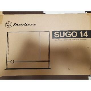 SilverStone SUGO14 Mini-ITX ケース 美品!(PCパーツ)